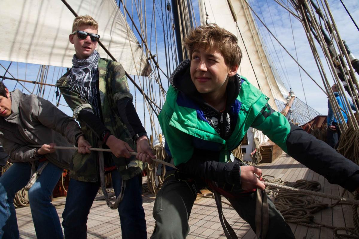 veter i volny - Jugendaustausch zur See (Oslo/Frederikstad - Bergen)