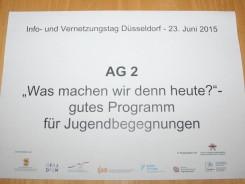 Info- und Vernetzungstag Beruflicher Austausch 2015 in Düsseldorf